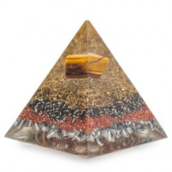 tiger eye, orgonite, home protection, emission protection, orgone pyramid