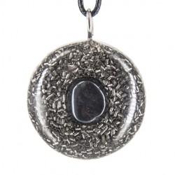 Orgonit, kristal,  hematit, enegijski nakit, zaščita pred sevanjem, ogrlica