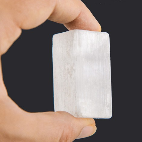 SELENITE RAW PIECE NATURAL CRYSTAL