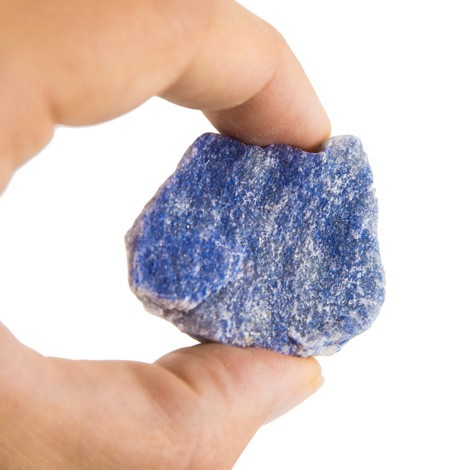 BLUE quartz RAW PIECE NATURAL CRYSTAL