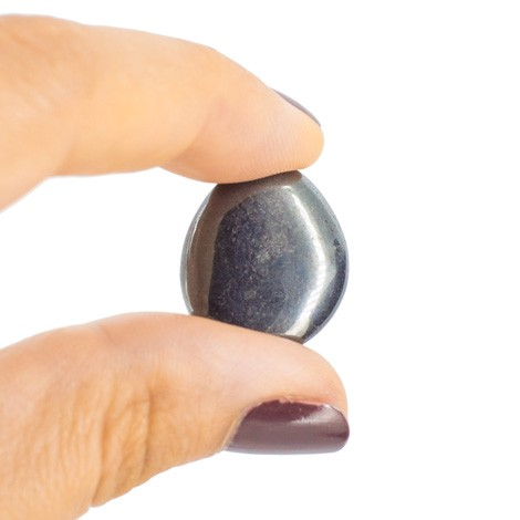 POCKET GEMSTONE Hematite, reducing shyness
