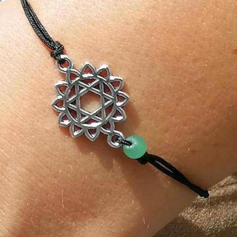 BRACELET AVENTURINE chakras, energy jewelry