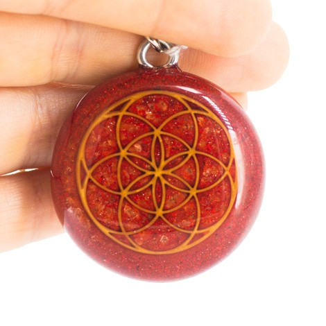 ORGONITE keychain, flower of life