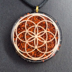 crystals, orgonite, necklace, jewelry, energy jewelry, protection,