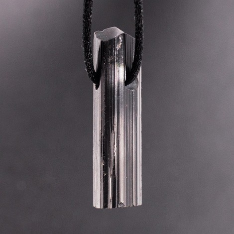 BLACK TOURMALINE PENDANT, gift for men
