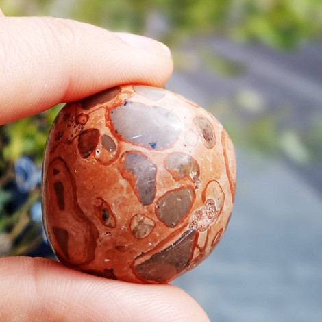 LEOPARD JASPER pocket gemstone