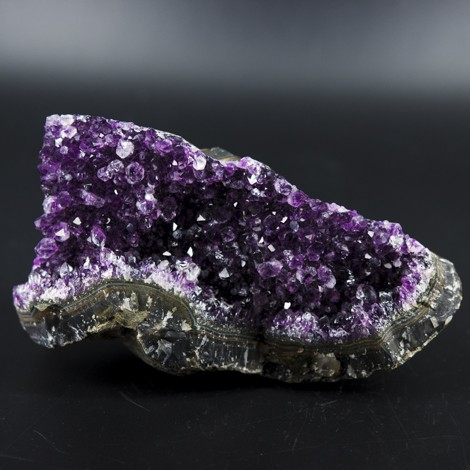 amethyst crystal cluster natural