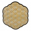 3D PICTURE FLOWER OF LIFE wooden