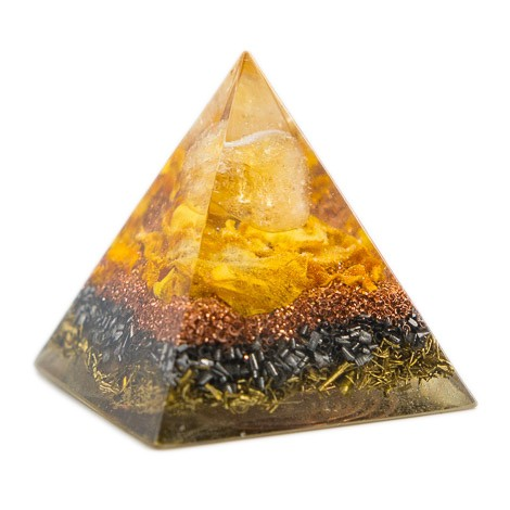 ORGONITE CITRINE pyramid