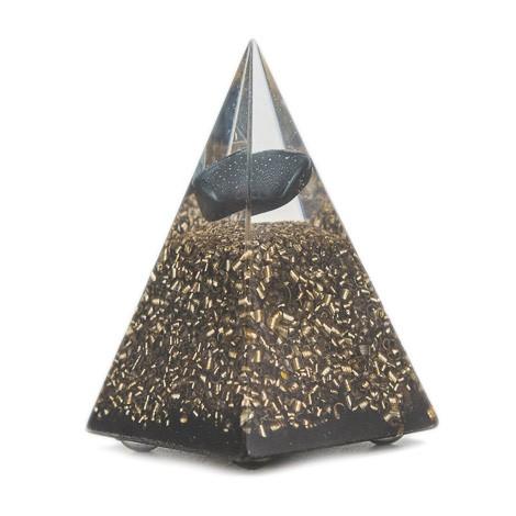 ORGONITE HEMATITE TOURMALINE pyramid