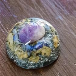 Orgone, crystal, energetic, pocket orgonite