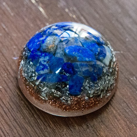 Orgone, crystal, energetic, pocket orgonite