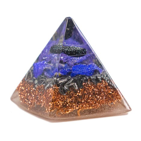 ORGONITE PYRAMID onyx, orgone energy