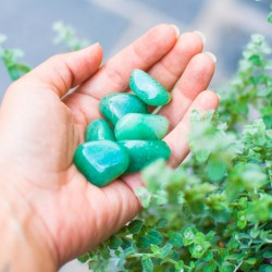 GREEN AVENTURINE pocket gemstone
