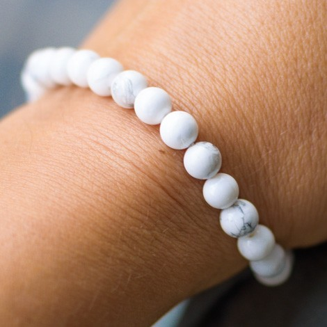 MAGNESITE BRACELET, energy jewelry