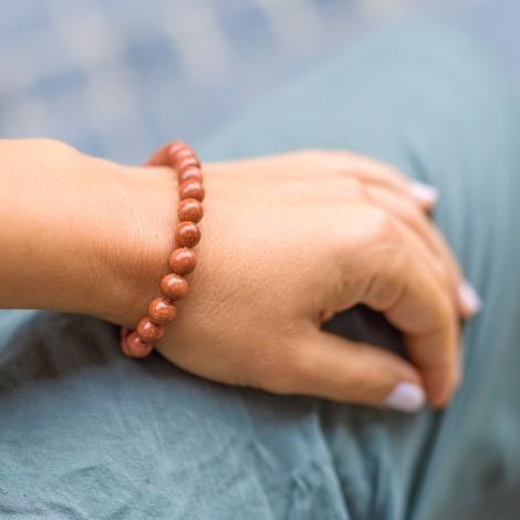 SONČEV KAMEN zapestnica, energijski nakit