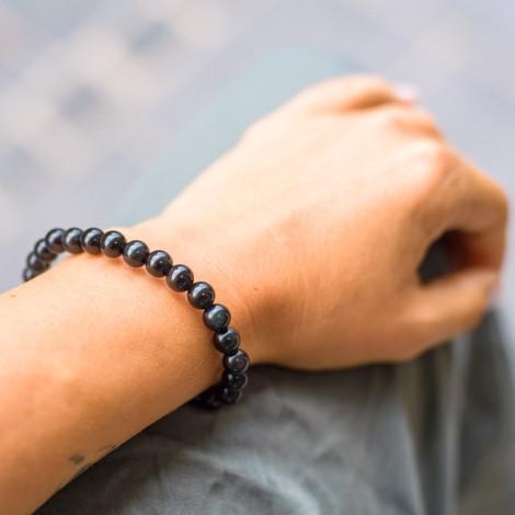 OBSIDIAN zapestnica, energijski nakit