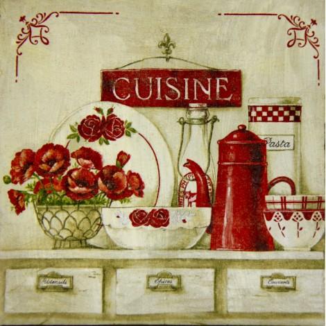 cuisine slika decoupage kuhinjska
