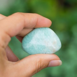 AMAZONIT žepni kristal