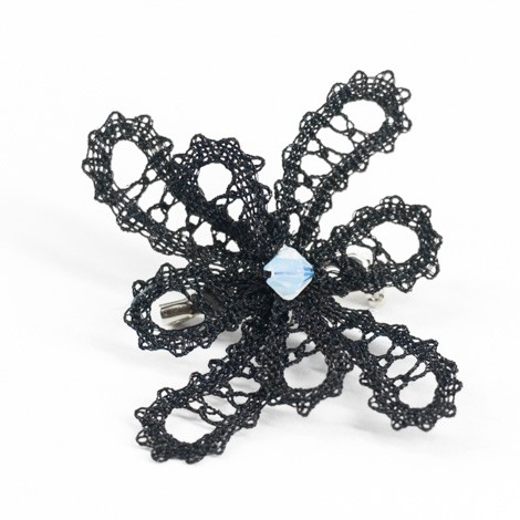 LACE BROOCH, lace