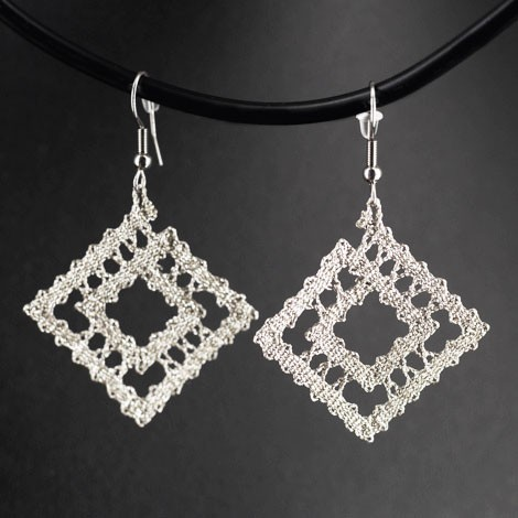 LACE EARRINGS, lace, gift for women, gifts for Women's Day