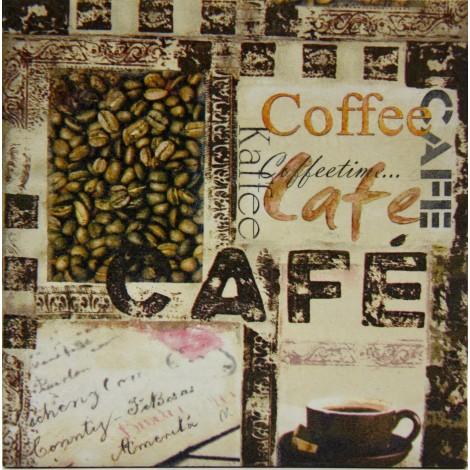 kava slika decoupage kuhinjska