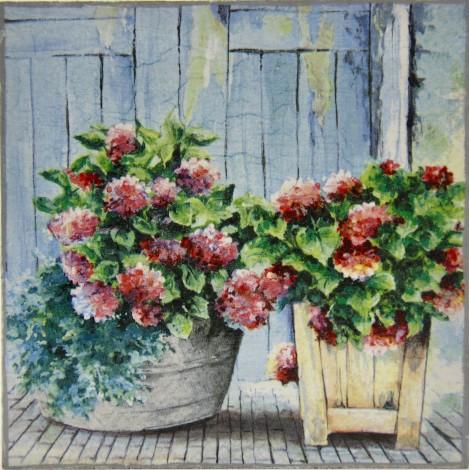 cvetlice hortenzija slika decoupage kuhinjska