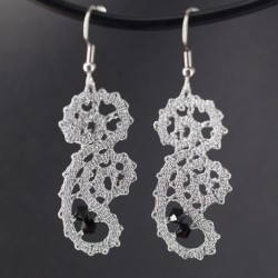 LACE EARRINGS, lace, gift for women, gift for Women's Day