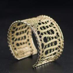 lace pattern, handmade bracelet