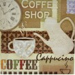 kava slika decoupage kuhinjska coffee shop