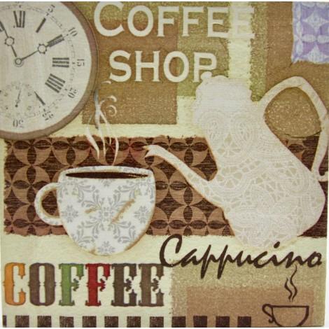 kava slika decoupage kuhinjska coffee shop