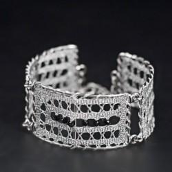 ročno izdelana zapestnica, vzorec za nakit iz klekljane čipke, vzorec zapestnice