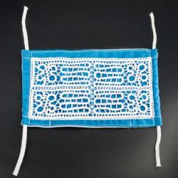 lace pattern, handmade hygienic mask