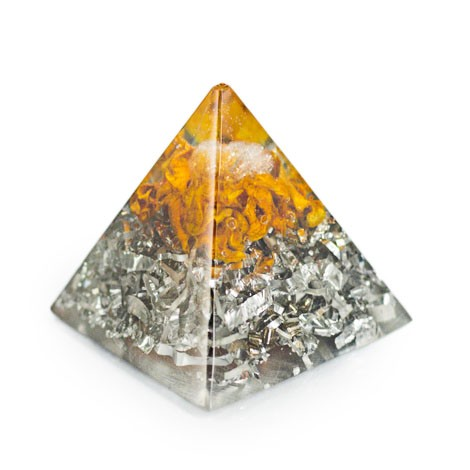 ORGONITE PYRAMID Citrine