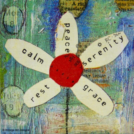slika peace mir  decoupage
