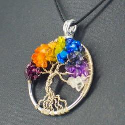drevo življenja čakra energijski obesek
