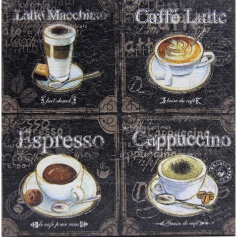 slika kava decoupage