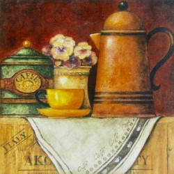 kuhinjska slika decoupage kava coffee