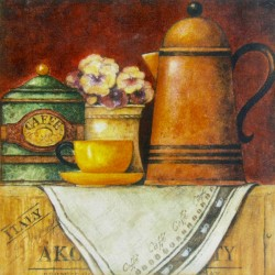 kuhinjska slika tihožitje kava coffee