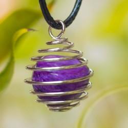 CHAROITE pendant