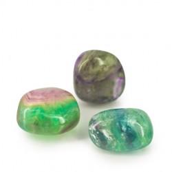 FLUORITE pocket gemstone