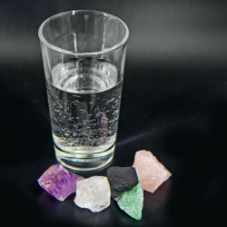 CRYSTALS FOR WATER, cleansing water