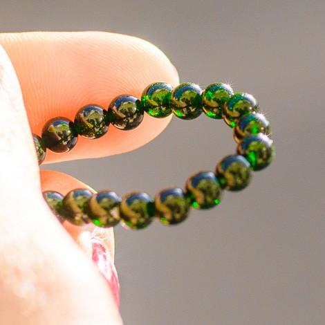 GREEN SUNSTONE bracelet