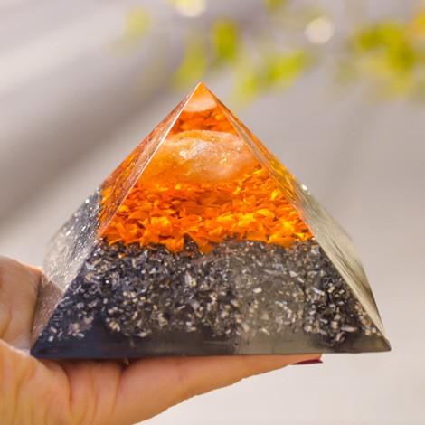 ORGONIT CITRIN piramida