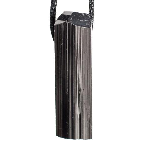 ČRNI TURMALIN  OBESEK špica, darilo za moške