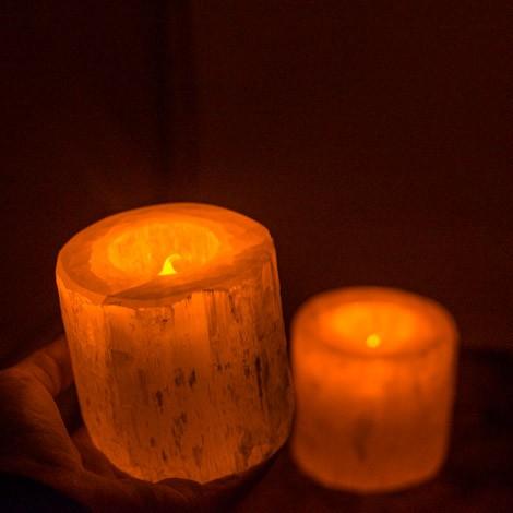 selenit zaščita aure  energijsko čiščenje selenit  lučka