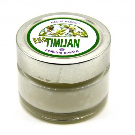 naravna zeliščna sveča timijan