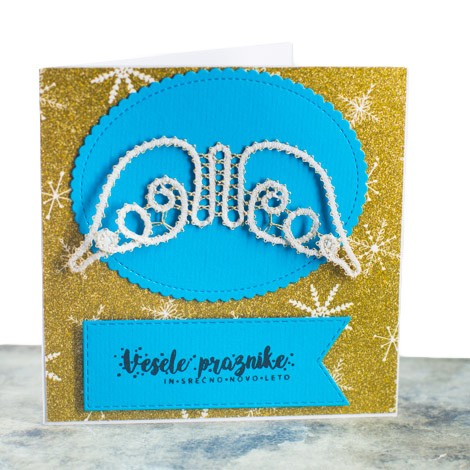 LACE NEW YEAR CARD