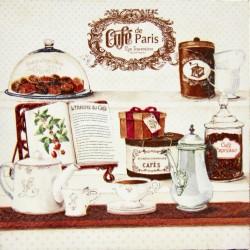 cafe de paris kava slika decoupage kuhinjska