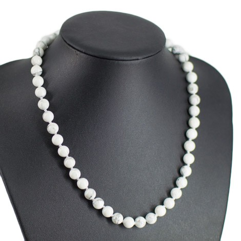 magnezit, ogrlica, energijski nakit, kristali, ezoterika